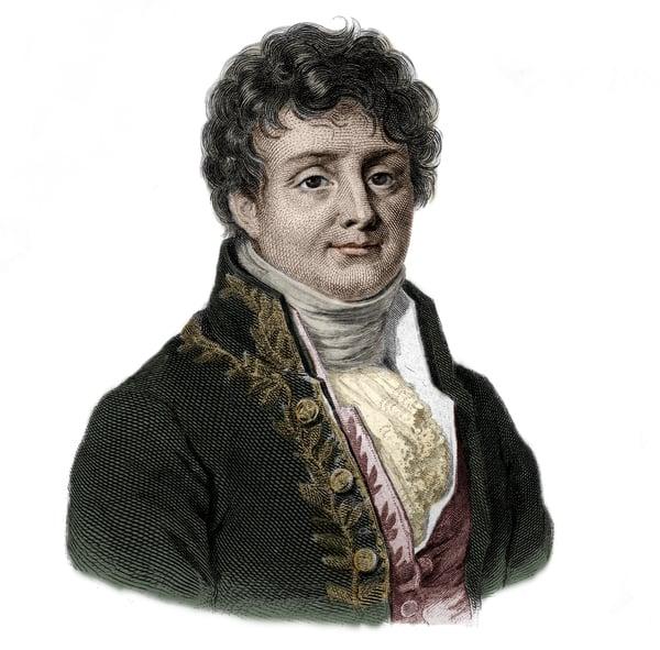 Portrait of Joseph Fourier (1768-1833) French mathematician and physicist / Stefano Bianchetti / Bridgeman Images