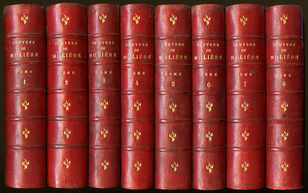 The complete works of Moliere in 8 volumes, popular edition Marpon and Flamarion 19th century. / Photo © Gusman / Bridgeman Images