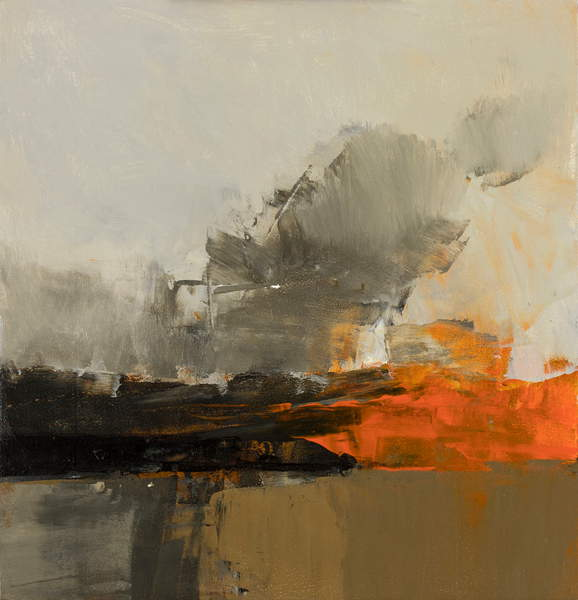 Autumn, 2016 (mixed media on panel), Neil Canning  (b.196)  Private Collection  Bridgeman Images