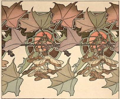 Plate 39 from Documents Decoratifs, 1902 (colour litho), Mucha, Alphonse Marie (1860-1939)  Mucha Trust  Bridgeman Images