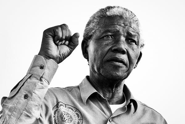 Photo of Mandela Fist, © Keith Bernstein / Bridgeman Images