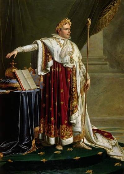 Portrait of Napoleon Bonaparte (1769-1821) (oil on canvas), Girodet de Roucy-Trioson, Anne Louis (1767-1824) / The Bowes Museum, Barnard Castle, County Durham, UK / © Bowes Museum / Bridgeman Images