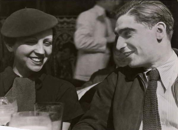 Capa, Robert and Taro, Gerda 1936  Photo © Fred Stein  Bridgeman Images