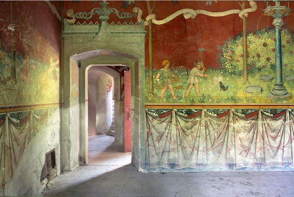 Castello, Rovasenda, Piedmont, Italy (photo), Camporesi, Silvia (b.1973)  Private Collection  Photo © Silvia Camporesi  Bridgeman Images