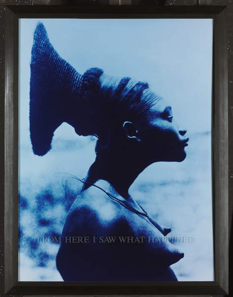 From Here I Saw What Happened and I Cried, 1994-95 (chromogenic colour print), Weems, Carrie Mae (b.1953)  Private Collection  Photo © Christies Images  Bridgeman Images