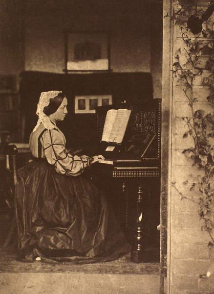 JULIA MARGARET CAMERON (1815-1876). English photographer. Photographed c1863-65 by Oscar G. Rejlander or Lord Somers.  Granger  Bridgeman Images