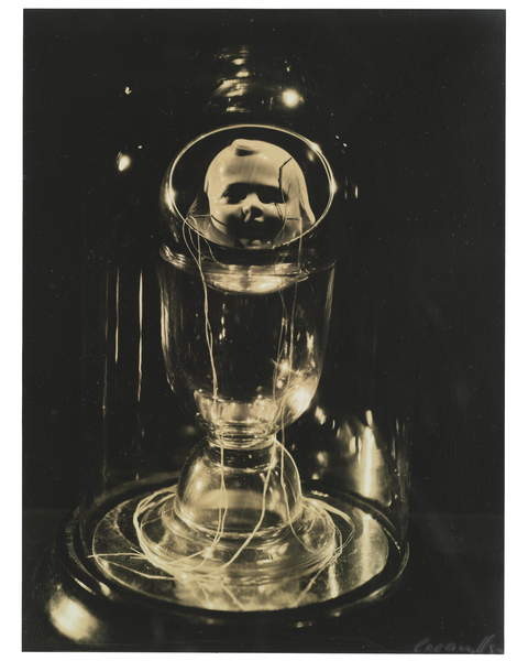 Object by Joseph Cornell, New York, 1933 (gelatin silver print), Miller, Lee (1907-77)  Private Collection  Photo © Christies Images  Bridgeman Images