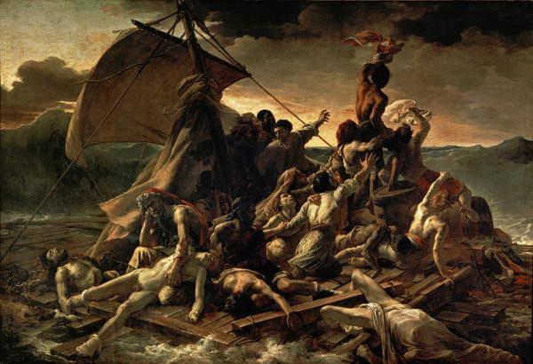 The raft of the Medusa, Theodore Gericault, Louvre Museum, Paris / Bridgeman Images