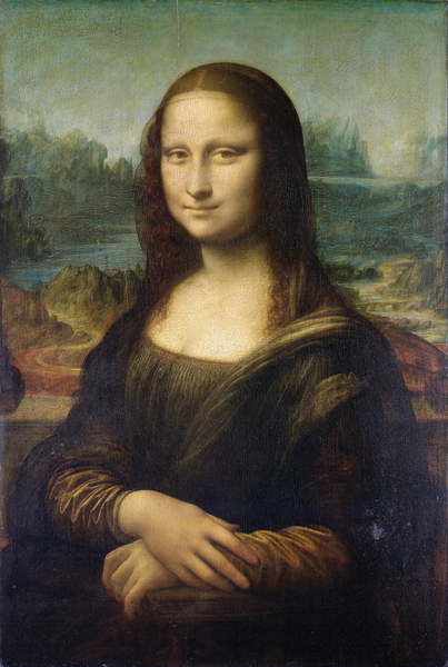 The Mona Lisa, Leonardo Da Vinci, Louvre Museum, Paris / Bridgeman Images