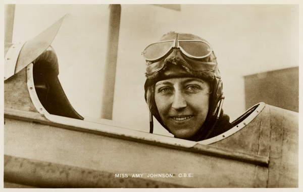 Amy Johnson  Lebrecht History  Bridgeman Images