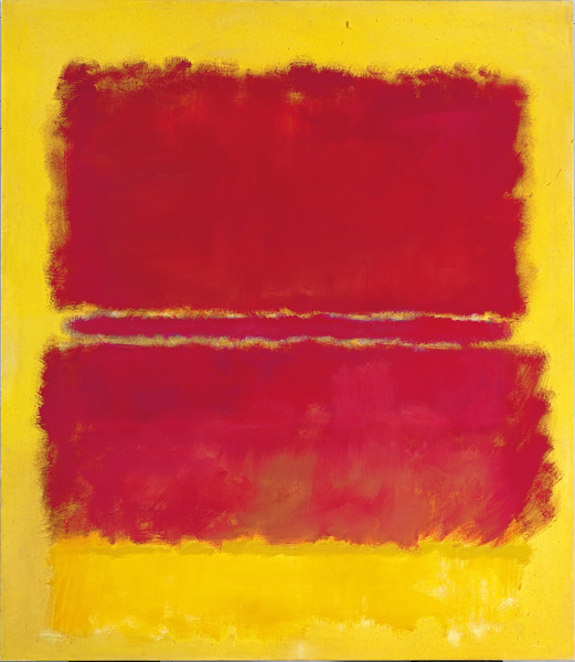 No. 15, 1952 (oil on canvas), Mark Rothko (1903-70) / Private Collection / Bridgeman Images