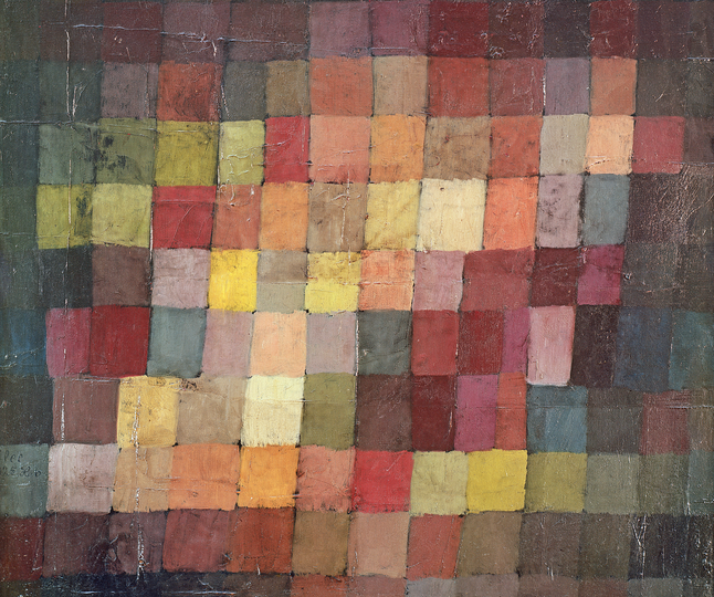 Ancient Harmony, 1925 by Paul Klee (1879-1940)/ Kunstmuseum, Basel, Switzerland