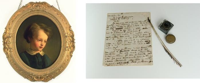 charles-dickens-museum-portrait-and-manuscript