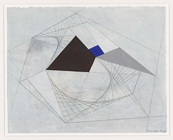 Drawing for Sculpture / 1940 by Barbara Hepworth / Private Collection