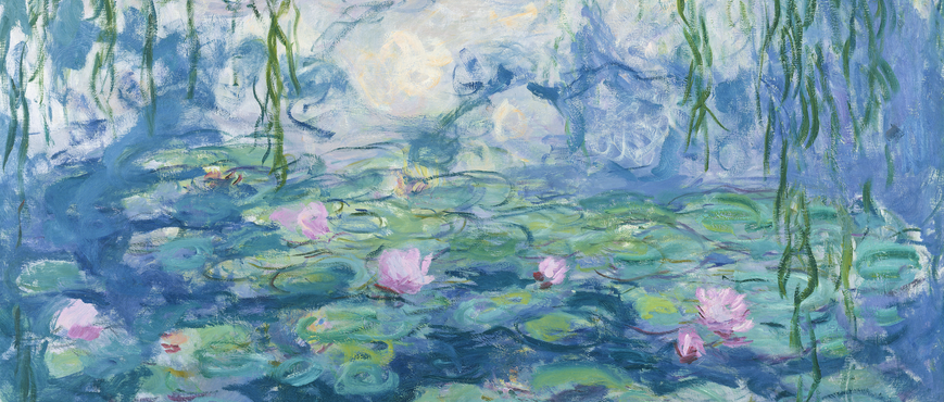 Waterlilies, 1916-19 (oil on canvas), Claude Monet / Musee Marmottan Monet, Paris, France