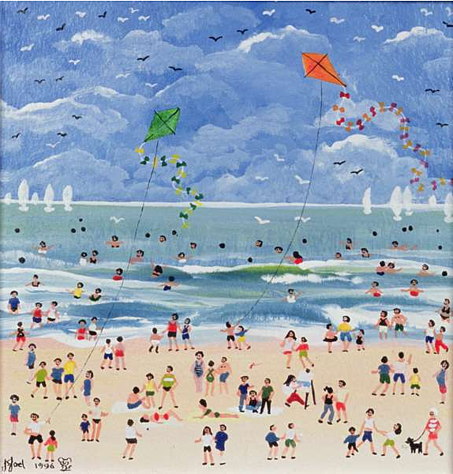 A Cornish Beach (w/c on paper), Joel, Judy / Private Collection