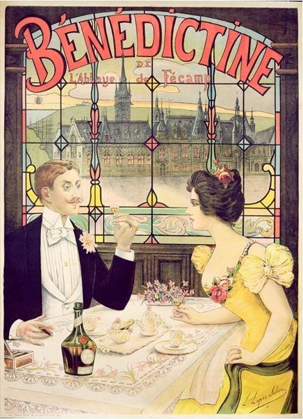 benedictine-advertisement-lucien-silva-illustration