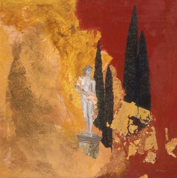 Aeolus' Sister (oil on canvas), Boissegur (Contemporary Artist) / Private Collection / © Beatrice Boissegur