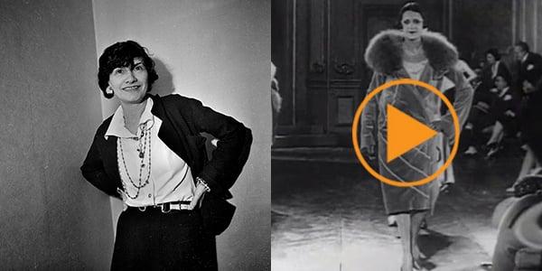 Coco Chanel, 1936, Boris Lipnitski (1897-1971) / Private Collection / Roger-Viollet, Paris / Bridgeman Images; Fashions of 1920s, Chanel fashion house, beauty pageant. / Bridgeman Images
