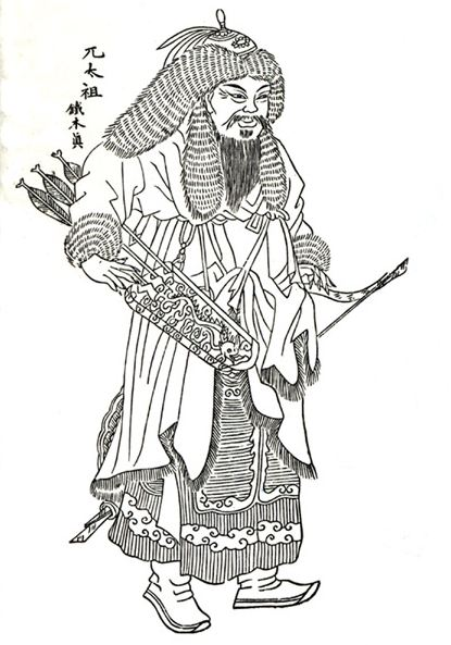 colouring-book-gengis-khan-historical