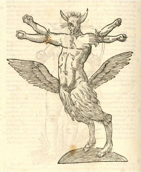 colouring-book-mythological-monstrum-illustration