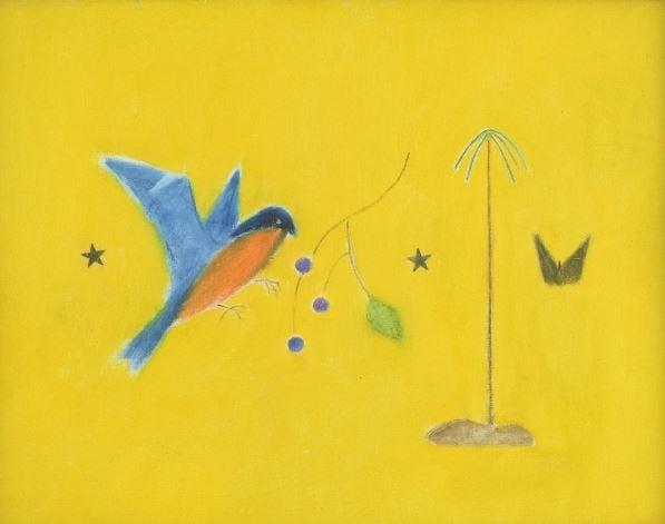 craigie-aitchison-artist-yellow