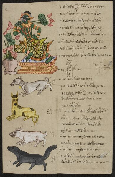 Animals of the zodiac. / British Library, London, UK / © British Library Board. All Rights Reserved / Bridgeman Images
