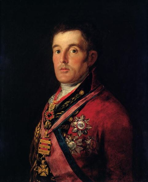 The Duke of Wellington, 1812-14 (oil on panel)/ Francisco Jose de Goya y Lucientes/ National Gallery, London, UK