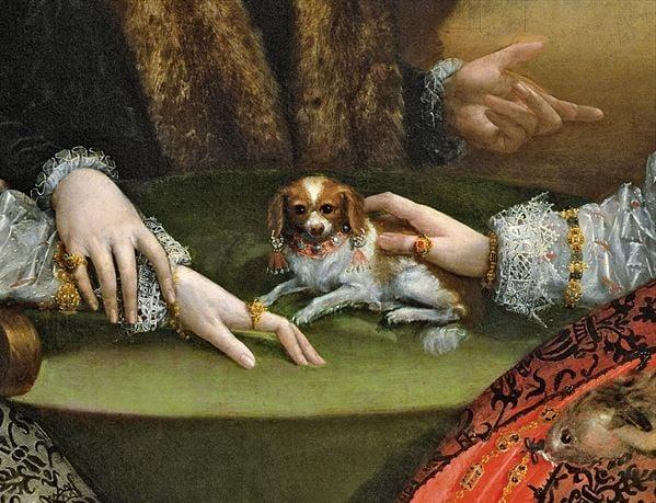 The Gozzadini Family (detail) by Lavinia Fontana (1552-1614) / Pinacoteca Nazionale, Bologna, Italy / Bridgeman Images