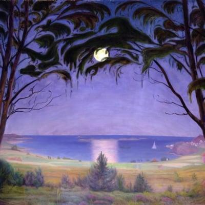 harald-sohlberg-purple-twilight-sky