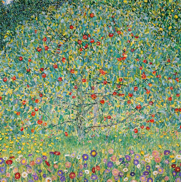 Apple Tree I, 1912 (oil on canvas), Gustav Klimt (1862-1918) / Private Collection / Photo © Christie's Images