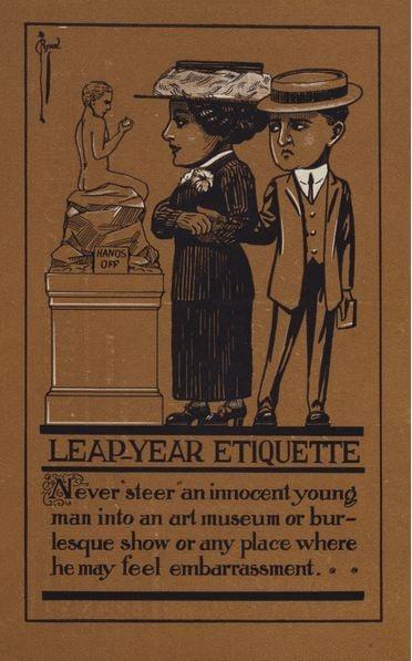 leap-year-etiquette-postcard-marriage