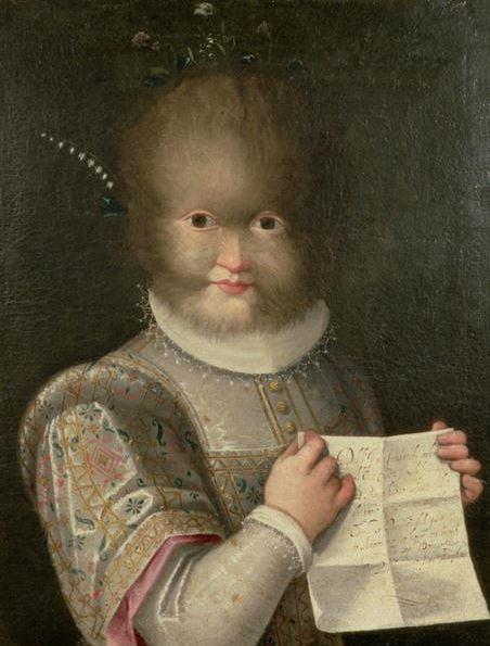 Portrait of a Girl Covered in Hair by Lavinia Fontana (1552-1614) / Photo © Bonhams, London, UK / Bridgeman Images