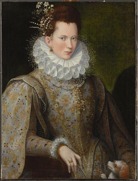 Portrait of a Lady, 1590s by Lavinia Fontana / Photo © Philip Mould Ltd