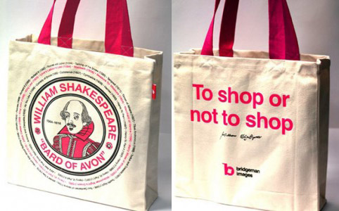 Bridgeman Images William Shakespeare Tote Bag