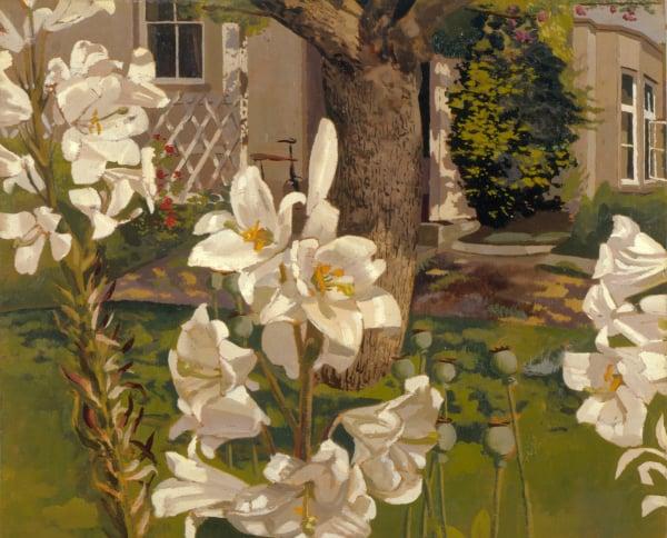 Madonna Lilies, Cookham, c.1935, Stanley Spencer / Leeds Museums and Galleries (Leeds Art Gallery) U.K.