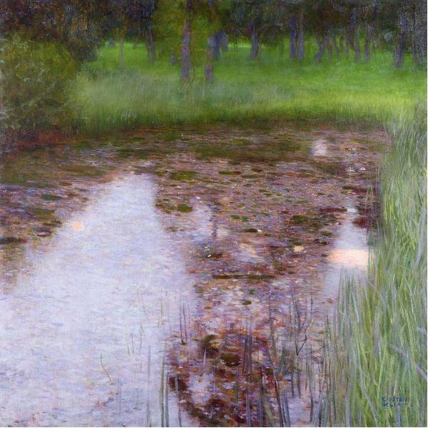 swamp-gustav-klimt