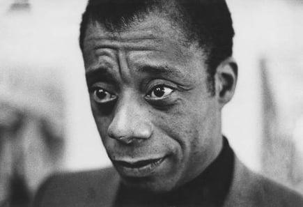James Baldwin, London, 1962 (b/w photo) / © Neil Libbert / Bridgeman Images