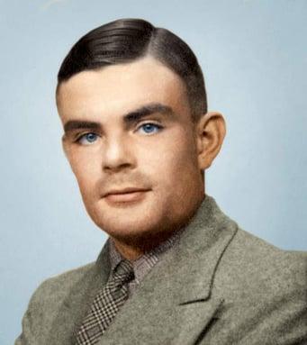Portrait of Alan Mathison Turing, (1912 - 54) (photo) / Private Collection / Prismatic Pictures / Bridgeman Images
