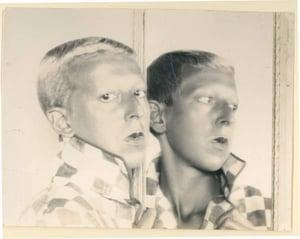 Self portrait, c.1928 (b/w photo), Claude Cahun (1894-1954) / Jersey Heritage Trust, UK / Bridgeman Images