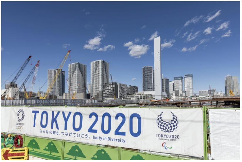 Tokyo 2020 - City / Photo © Olivier Martin Gambier / Artedia / Bridgeman Images