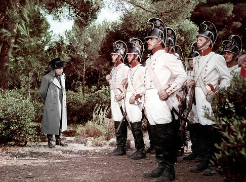 Image of Napoleon Directed By Sacha Guitry, 1954 © Films C.L.M./Filmsonor/Francinex/Rizzoli Film / Diltz / Bridgeman Images
